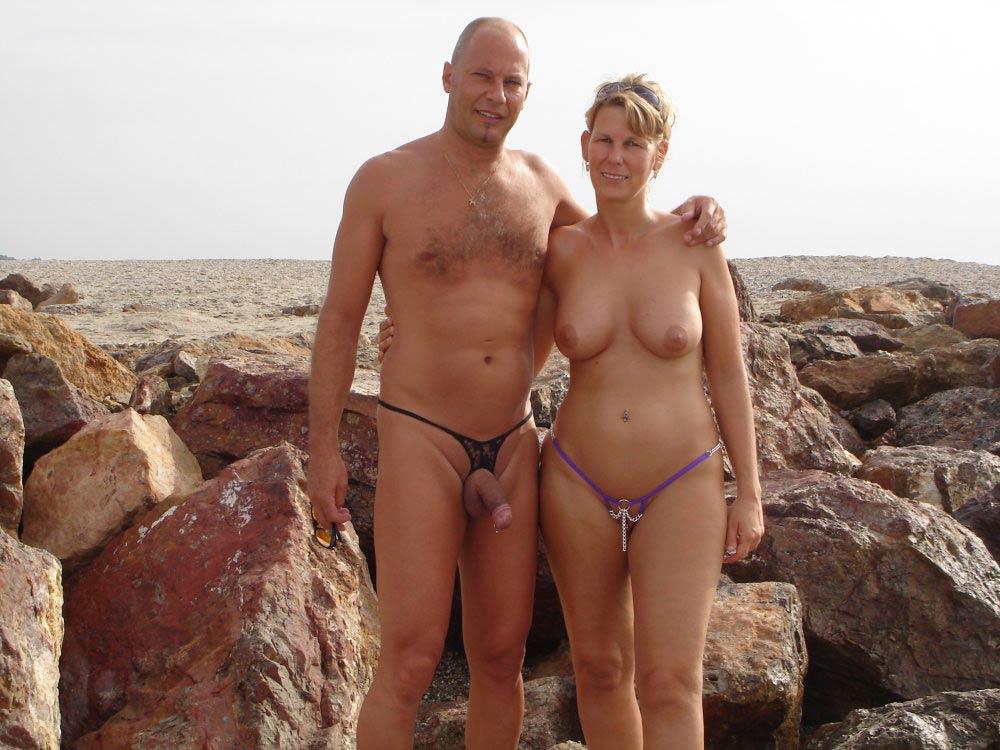 фото жена голая на пляже